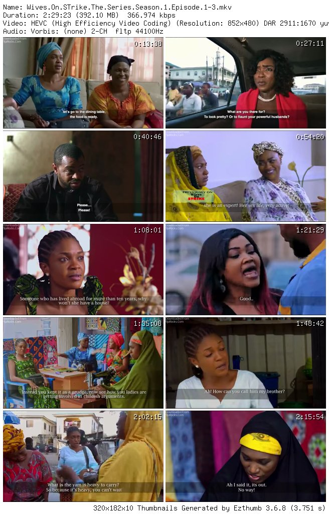 Wives on Strike The Series Season 1 Episode 1 - 3